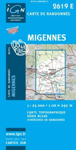 Migennes 1 : 25 000
