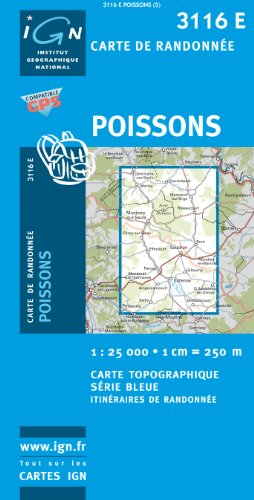 Poissons 1 : 25 000