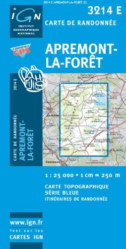 9782758514145: Apremont-la-Foret GPS: IGN3214E