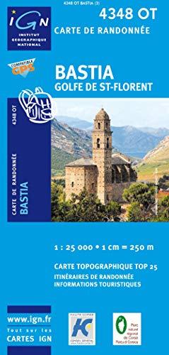 Bastia/Golfe de Saint-Florent GPS: IGN.4348OT