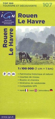 9782758515067: Rouen Le Havre : 1/100 000