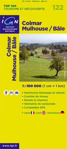 9782758515173: Colmar Mulhouse / Bâle : 1/100 000 (Top 100 Tourisme et découverte)