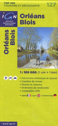 9782758515203: 127- Orleans/Blois 1:100,000 (English, French and German Edition)