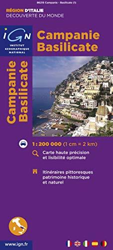 9782758515845: 86215 Campanie.Basilicate 1/200.000