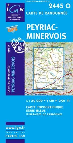 Peyriac-Minervois 1 : 25 000