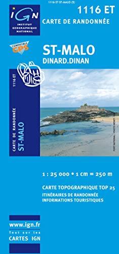 9782758516286: St Malo/Dinard/Dinan France 1:25,000 (French Edition)
