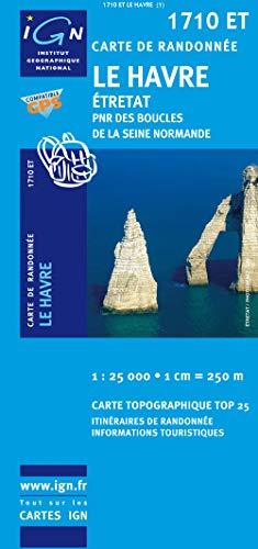 9782758516293: Le Havre : 1/25 000 (Carte de randonnée Top 25)