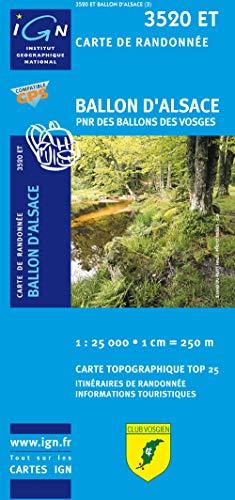 9782758516378: Giromagny - Ballon D'Alsace PNR: IGN.3520ET (Top 25 & série bleue - Carte de randonnée)