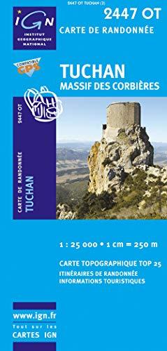 9782758518327: Tuchan, Massif des Corbières : 1/25 000