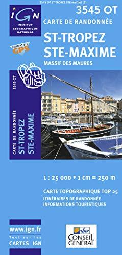 9782758518433: St-Tropez / Ste-Maxime / Massif des Maures gps