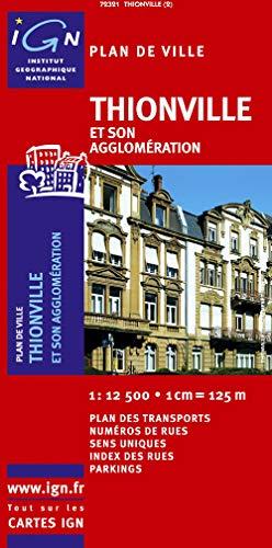 9782758518556: 72321 Plan de Thionville Sans Livret 1/12.500