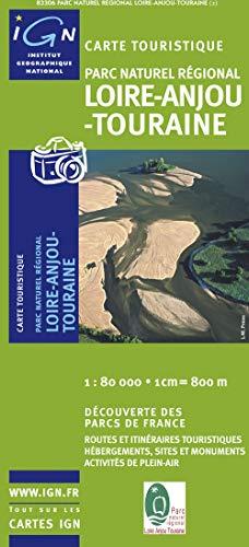 9782758519812: Loire/Anjou/Touraine PNR: IGN.F.PN83306