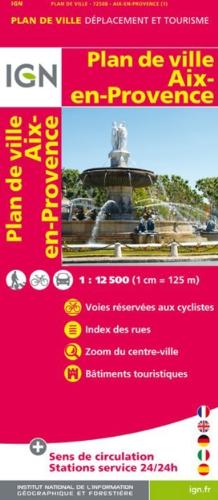 9782758520535: Aix-en-Provence : 1/12.500 (Plan de Ville)