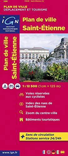 9782758520658: 72520 Plan de Saint-Etienne 1/12.500