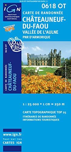 Chateauneuf-du-Faou / Vallee L'Aulne / Armorique 1 : 25 000