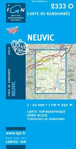 Neuvic 1 : 25 000