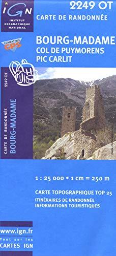 9782758522447: 2249ot Bourg-Madame/Col de Puymorens