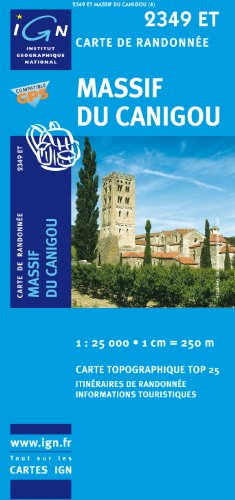 9782758522478: Massif du Canigou France 1:25,000 (French Edition)