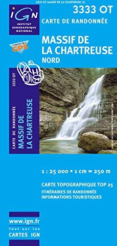 9782758522577: Massif De La Chartreuse Nord: IGN.3333OT