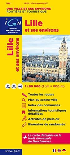 9782758523949: Lille et ses environs : 1/80 000 (Une ville et ses environs)