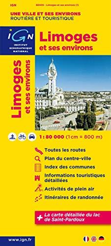 9782758524014: 88409 Limoges et Ses Environs 1/80.000