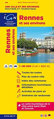 9782758524021: 88410 Rennes et Ses Environs 1/80.000