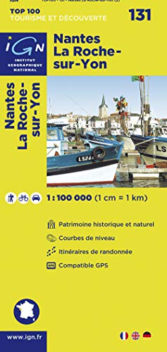 9782758524939: Nantes Laroche-Sur-Yon #131 (Ign Top 100s) (English and French Edition)