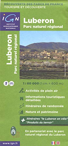 9782758525110: Luberon Parc Naturel Regional France: IGN.F.PN83302