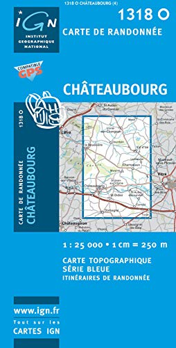 Chateaubourg 1 : 25 000