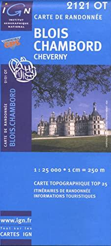 9782758525851: Blois/Chambord/Cheverny gps (Ign Map)