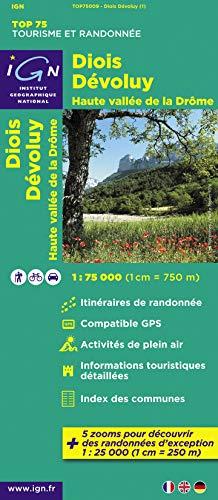 9782758526544: Diois / Devoluy / Hte Vallee De La Drome: IGN.75009