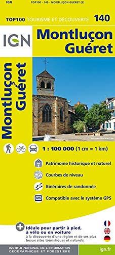 9782758526728: Montlucon / Gueret 2015: IGN.V140