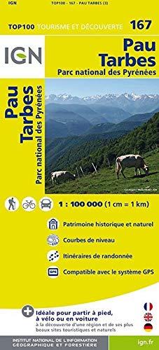 9782758526995: Top100167 Pau/Tarbes 1/100.000