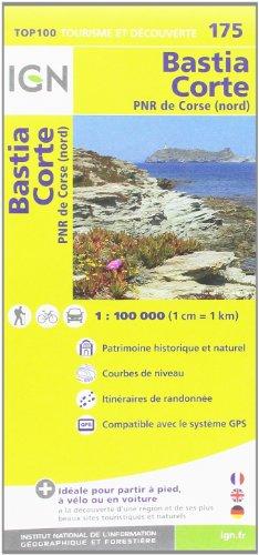 9782758527077: Bastia Corte PNR de Corse (nord) (Top 100 Tourisme et découverte)