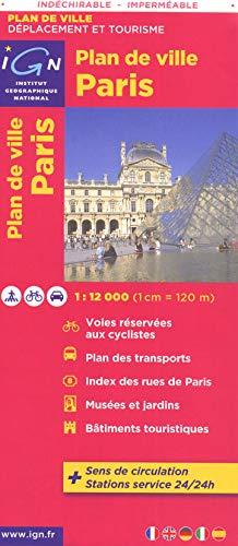 9782758527428: 72600 PLAN DE PARIS (INDECHIRABLE) 1/12.000