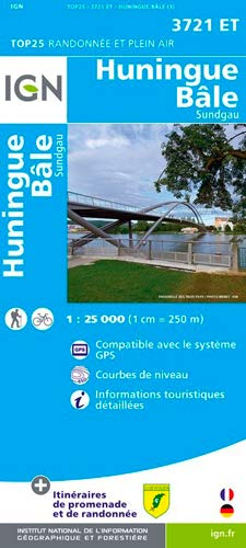 9782758528098: Huningue / Bale: IGN.3721ET