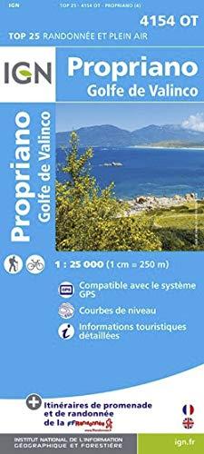 Propriano / Golfe de Valinco: IGN.4154OT