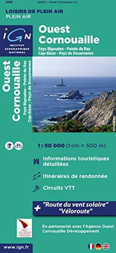 9782758528296: Ouest Cornouaille Plein Air: IGN82003