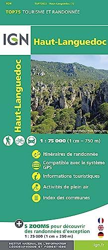9782758528999: Haut-Languedoc: IGN.75022