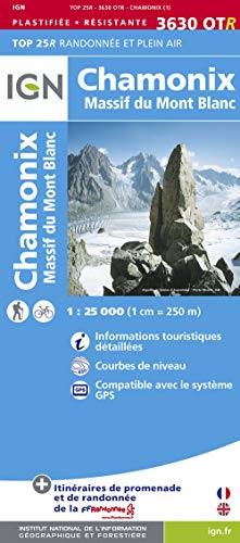 9782758529156: Chamonix / Massif du Mont Blanc: IGN.P.3630OTR