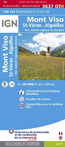 9782758529262: Mont Viso / St-Veran / Parc Naturel Regional du Queyras: IGN.P.3637OTR