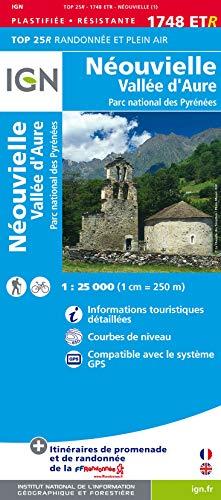 9782758529408: Neouvielle / Vallee d'Aure / PNR DES Pyrenees: IGN.P.1748ETR