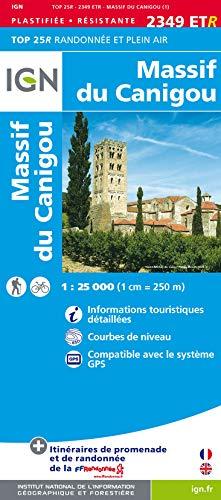 9782758529422: Massif du Canigou 2013: IGN.P.2349ETR (Ign Map)