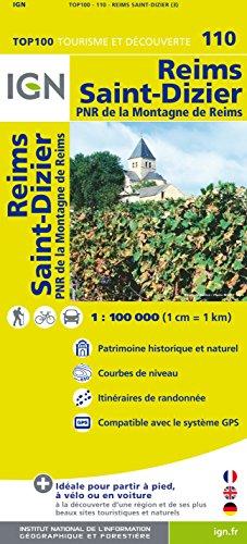 IGN 1 : 100 000 Reims - St. Dizier
