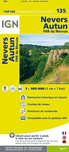 IGN 1 : 100 000 Nevers - Autun