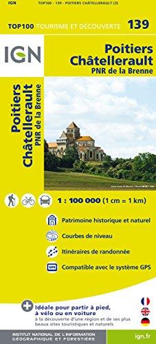 IGN 1 : 100 000 Poitiers Châtellerault