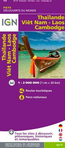 9782758530374: 85110 THAILANDE/VIET-NAM/LAOS/CAMBODGE 1/2M