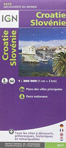 9782758530404: Croatie Slovénie : 1/300 000 (Découverte des pays du monde)
