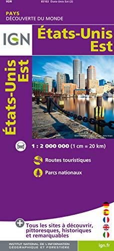 ETATS-UNIS EST 1/2.000.000 E