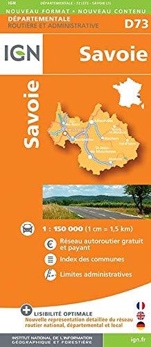 9782758532163: Savoie Dep 73 2014: IGN721273